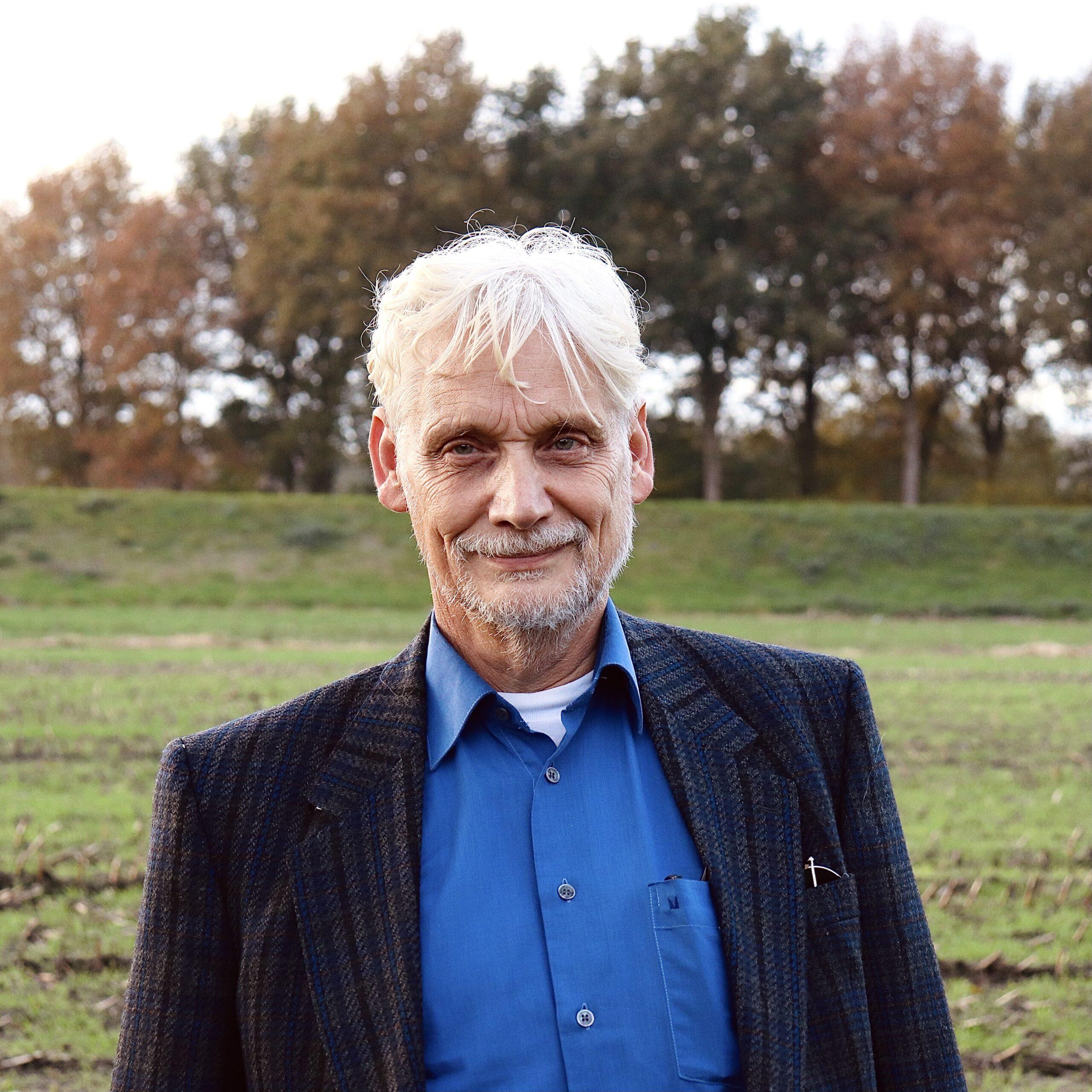 Voorzitter Johan Huibers